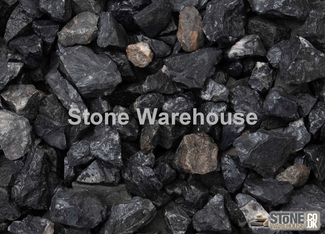 Black Limestone Chippings 20mm