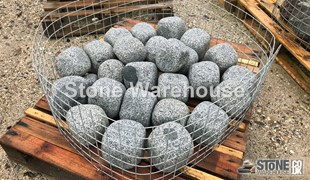 Silver Grey Mixed Cobbles/Boulders