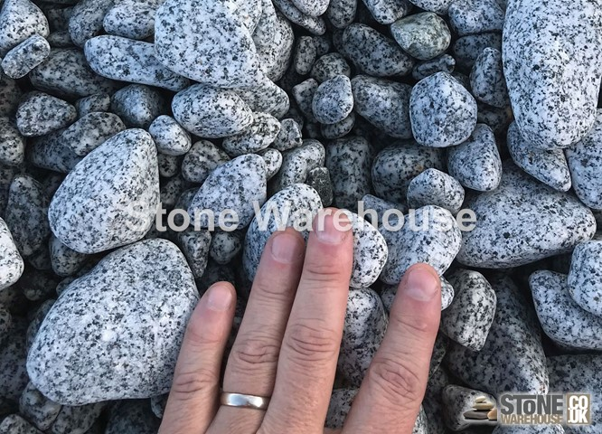 Silver Grey Pebbles 30-50mm