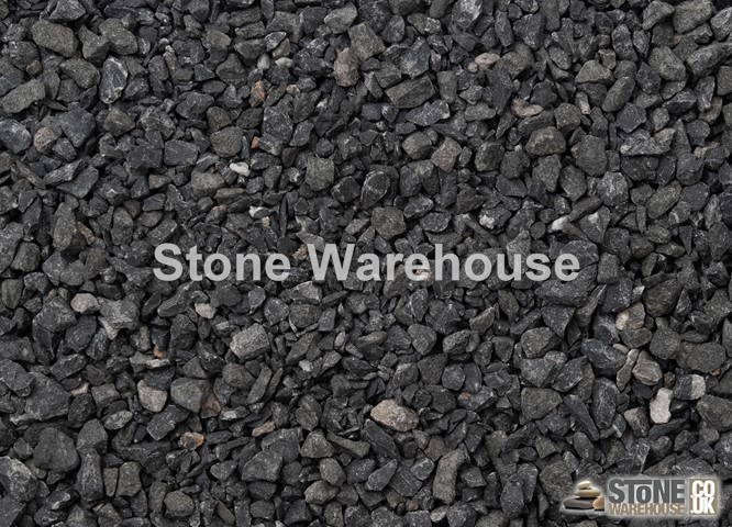 Black Limestone Chippings 10mm