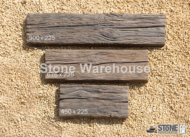 Log Effect Sleepers 900 x 225mm