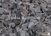 Grey Rubber Chippings For Landscaping