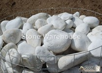 Tumbled Oriental White Boulders c100-300mm